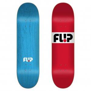 Дека для скейтборда Team Capsule Flip. Цвет: красный