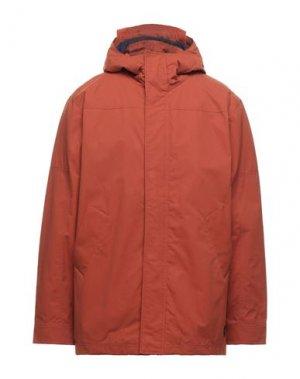 Пальто BEN SHERMAN. Цвет: ржаво-коричневый