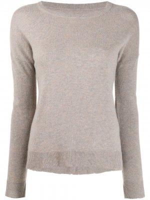 Пуловер Cici с нашивкой Zadig&Voltaire. Цвет: коричневый