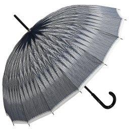 Зонт механический 1268 темно-синий JEAN PAUL GAULTIER