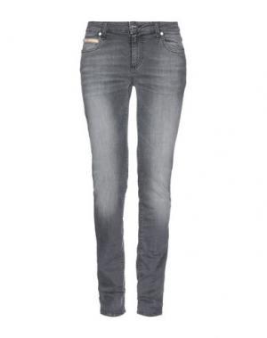 Джинсовые брюки DONNAVVENTURA by ALVIERO MARTINI 1a CLASSE. Цвет: стальной серый