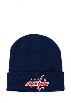 Шапка Atributika & Club™ NHL Washington Capitals. Цвет: синий