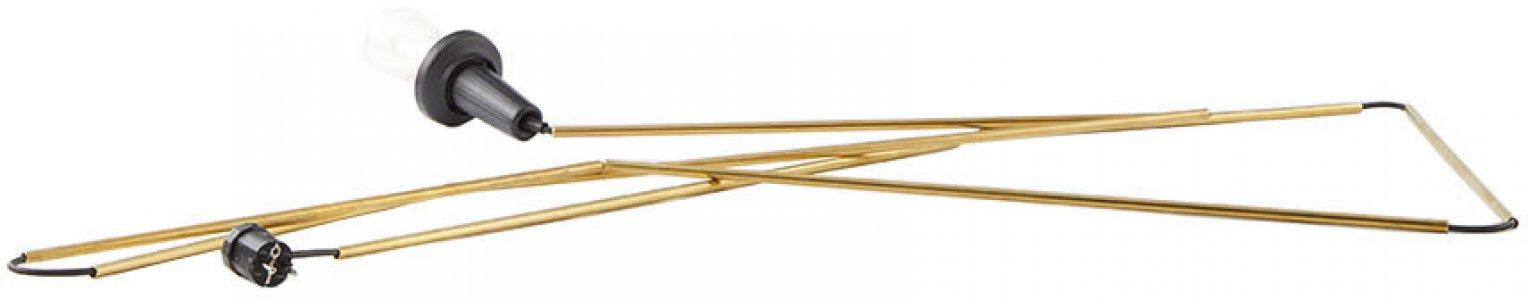 Gold N°26 Brass Stick Light Hanging Lamp Bless. Цвет: black