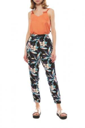 Пляжные брюки Roxy. Цвет: черный