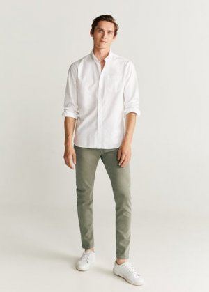 Цветные джинсы скинни - Billy Mango. Цвет: хаки