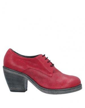 Обувь на шнурках ENTOURAGE. Цвет: красный