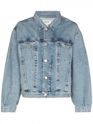 Джинсовая куртка оверсайз Charli AGOLDE. Цвет: синий