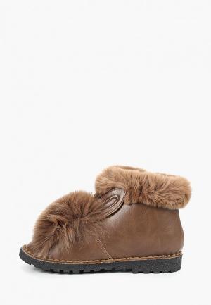Ботинки Avenir. Цвет: коричневый