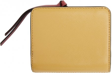 Pink & Yellow Mini Snapshot Compact Wallet Marc Jacobs. Цвет: new rose