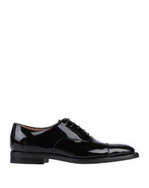 Обувь на шнурках CHURCH'S. Цвет: черный