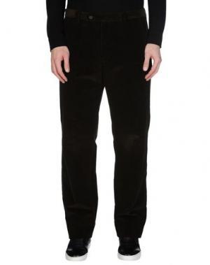 Повседневные брюки GERANI. Цвет: темно-зеленый