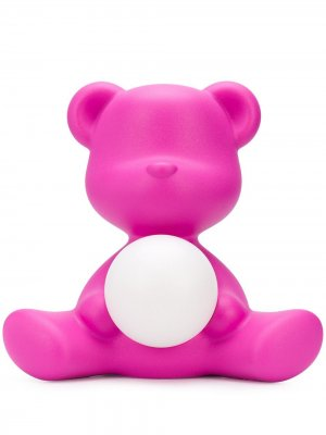 Настольная лампа Teddy Girl LED Qeeboo. Цвет: розовый
