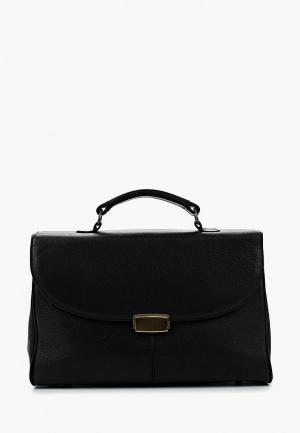 Портфель Duffy. Цвет: черный