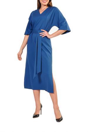 Платье Forus. Цвет: голубой