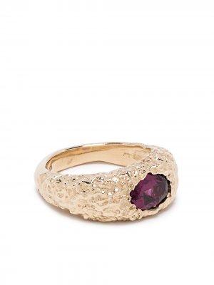 Перстень Orgaya из желтого золота SUSANNAH KING. Цвет: золотистый