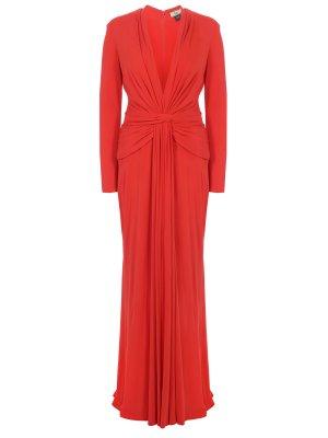 Платье вечернее шелковое ISSA LONDON