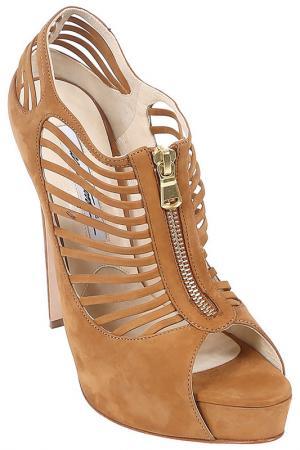 Туфли открытые Brian Atwood. Цвет: коричневый