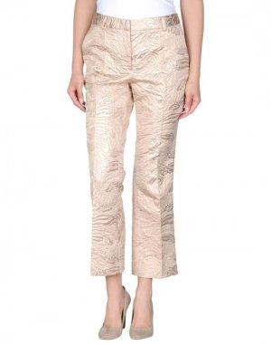 Повседневные брюки CLOTILDE. Цвет: телесный