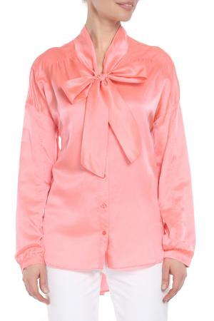 Блуза Marc Aurel. Цвет: бордовый
