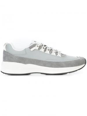 Кроссовки на шнуровке A.P.C.. Цвет: серый