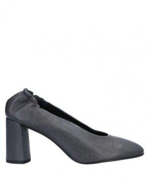 Туфли ALBERTO FERMANI. Цвет: стальной серый