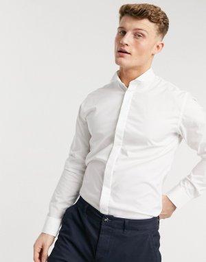 Белая рубашка под смокинг -Белый Selected Homme