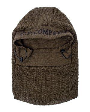 Лыжная маска 09CMAC246A UNI хаки C.P.Company. Цвет: хаки