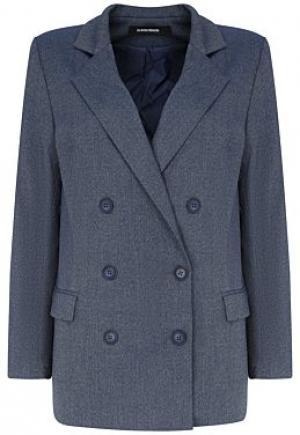 Двубортный пиджак La Reine Blanche