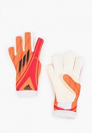 Перчатки вратарские adidas. Цвет: оранжевый