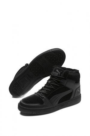 Кроссовки Rebound LayUp SD Fur Puma. Цвет: черный