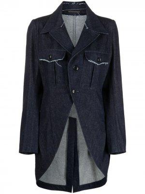 Ys джинсовая куртка Y's. Цвет: синий