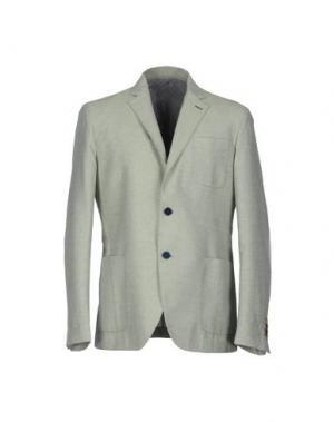 Пиджак ALESSANDRO GILLES. Цвет: зеленый