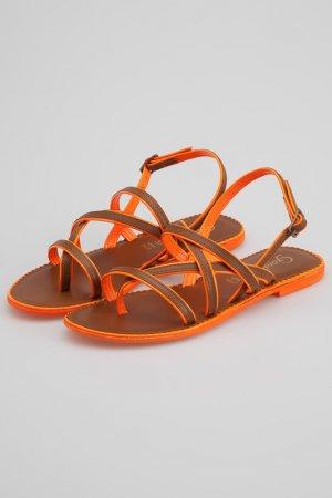 Босоножки Gardini. Цвет: оранжевый