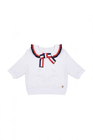 Пуловер STEFANIA. Цвет: белый