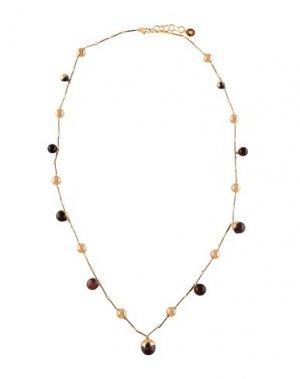 Ожерелье TORY BURCH. Цвет: хаки