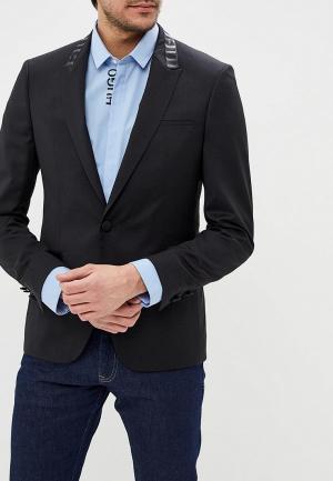 Пиджак Hugo Boss. Цвет: черный