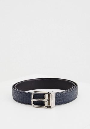 Ремень Dolce&Gabbana. Цвет: синий