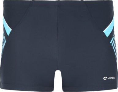 Плавки-шорты мужские , размер 50 Joss. Цвет: синий