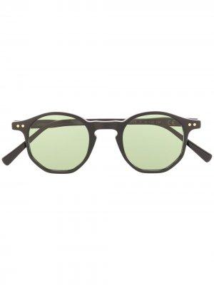 Солнцезащитные очки Amon в круглой оправе Epos. Цвет: черный