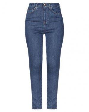 Джинсовые брюки DON THE FULLER. Цвет: синий