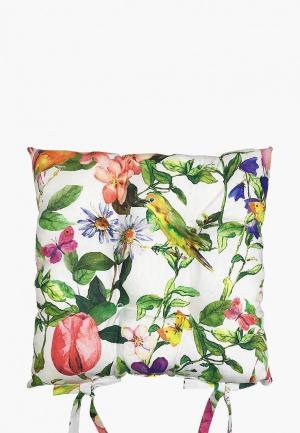 Подушка на стул Altali Колибри. Цвет: разноцветный