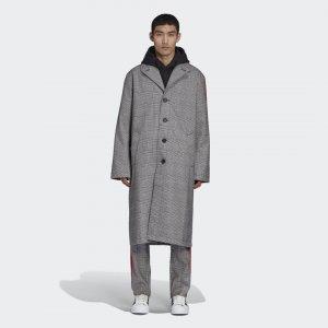 Пальто 424 Originals adidas. Цвет: красный