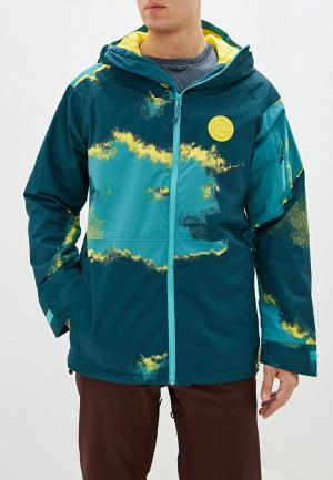 Куртка горнолыжная Burton M HILLTOP JK. Цвет: разноцветный