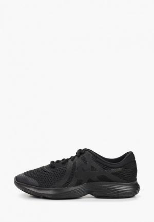 Кроссовки Nike BOYS REVOLUTION 4 (GS) RUNNING SHOE. Цвет: черный
