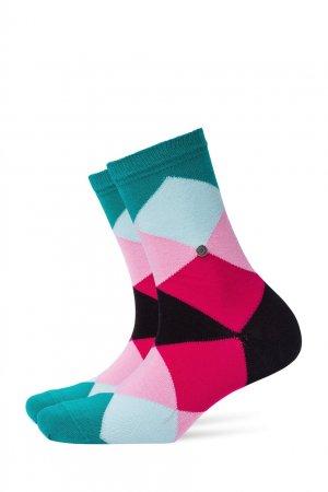 Хлопковые носки Bonnie Sho Burlington. Цвет: бирюзовый