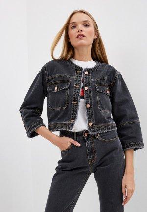 Куртка джинсовая Vivienne Westwood Anglomania. Цвет: серый