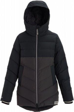 Куртка пуховая женская Loyle Down, размер 44-46 Burton. Цвет: черный