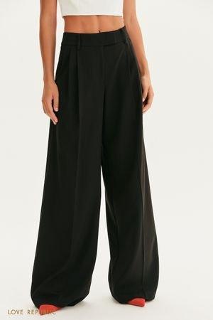 Костюмные брюки-палаццо LOVE REPUBLIC