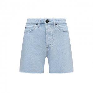 Джинсовые шорты 3x1. Цвет: синий