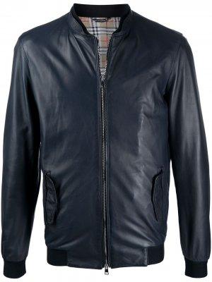 Куртка на молнии Daniele Alessandrini. Цвет: синий